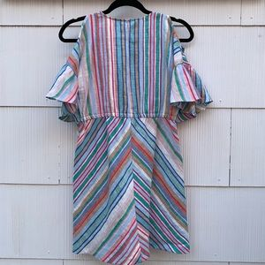 NWT Zara Girls Striped Dress